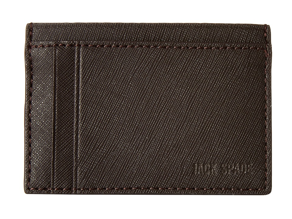 Jack Spade - Barrow Leather ID Wallet (Brown) Wallet