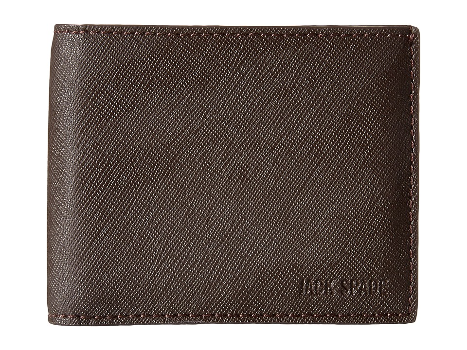 Jack Spade - Barrow Leather Slim Billfold (Brown) Bill-fold Wallet