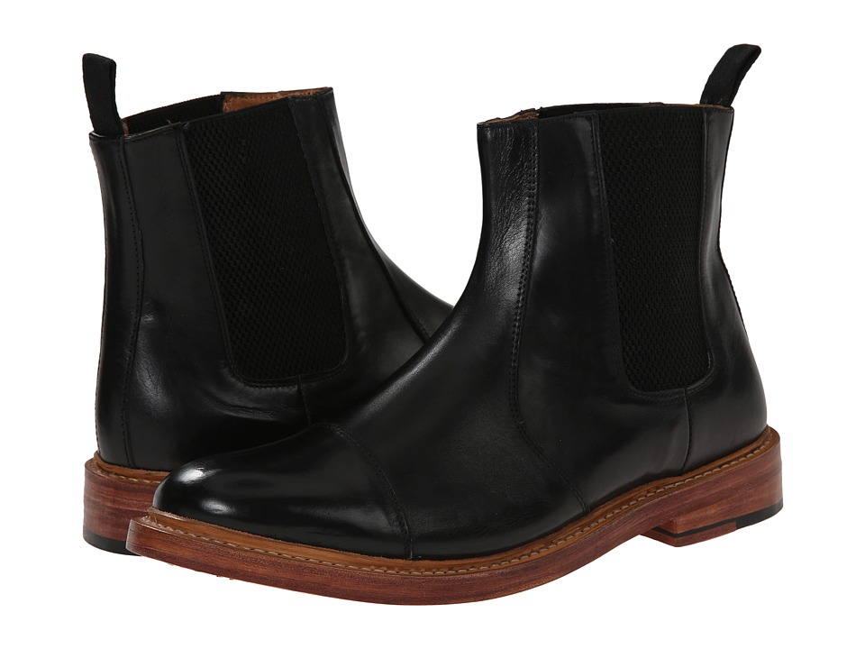 Lotus - Lexton (Black Leather) Men's Pull-on Boots