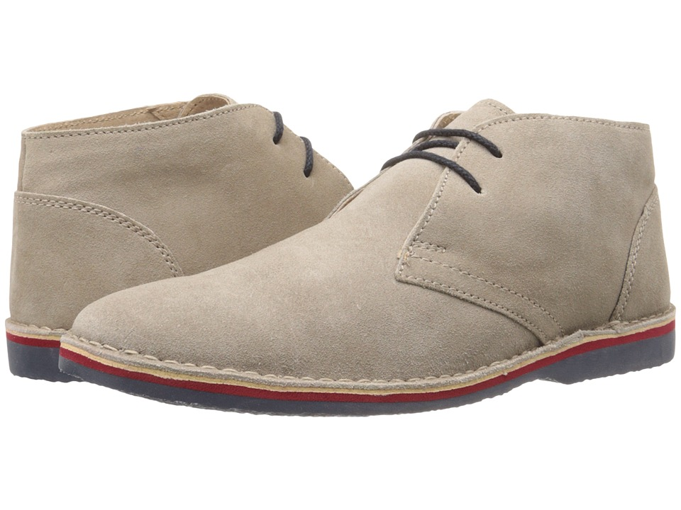 Lotus - Wickford (Stone Suede) Men's Lace Up Cap Toe Shoes