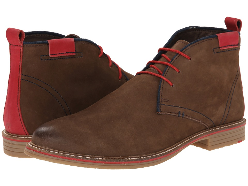 Lotus - Holbeton (Brown Nubuck) Men's Lace-up Boots