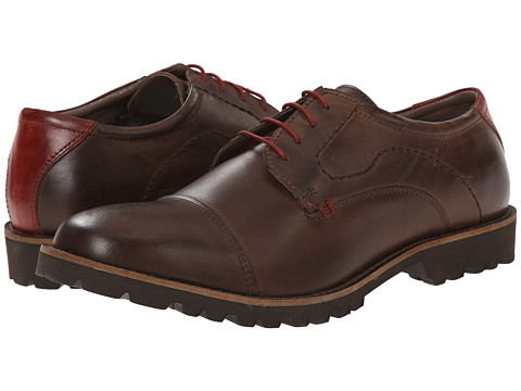 Lotus - Drayton (Brown) Men's Lace Up Cap Toe Shoes