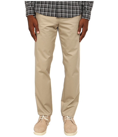Jack Spade - Stillman Wrinkle-Resistant Classic Trousers (Khaki) Men's Casual Pants