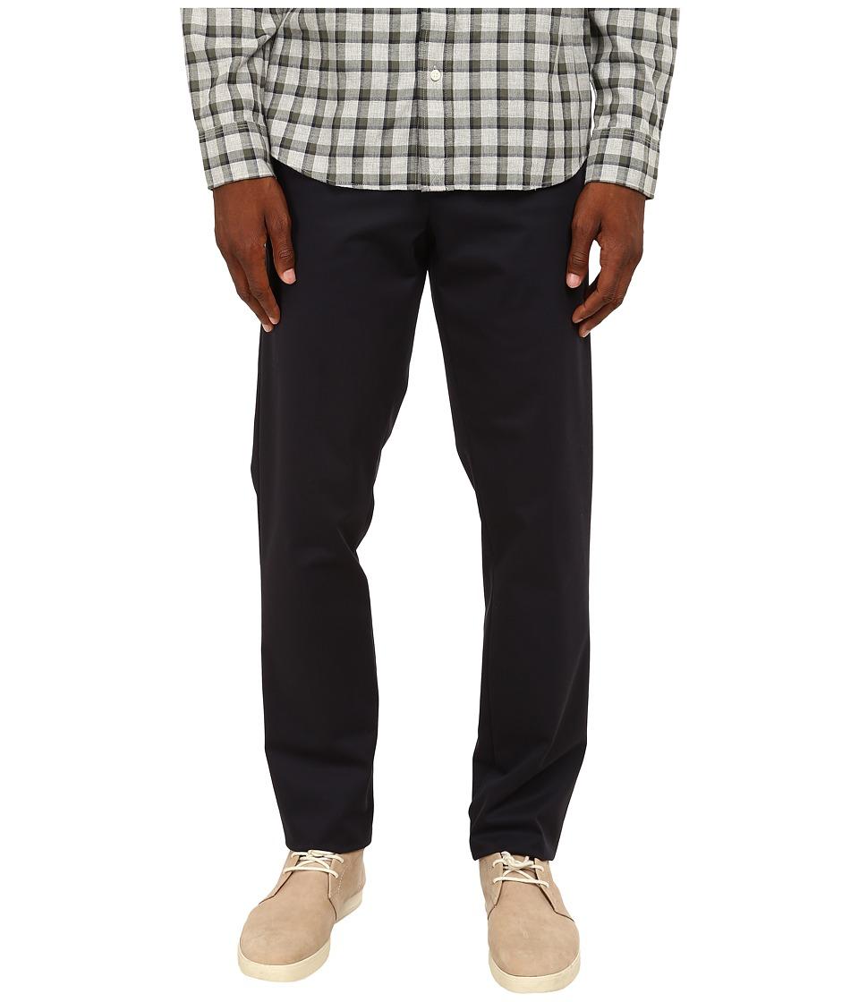 Jack Spade - Stillman Wrinkle-Resistant Classic Trousers (Navy) Men's Casual Pants