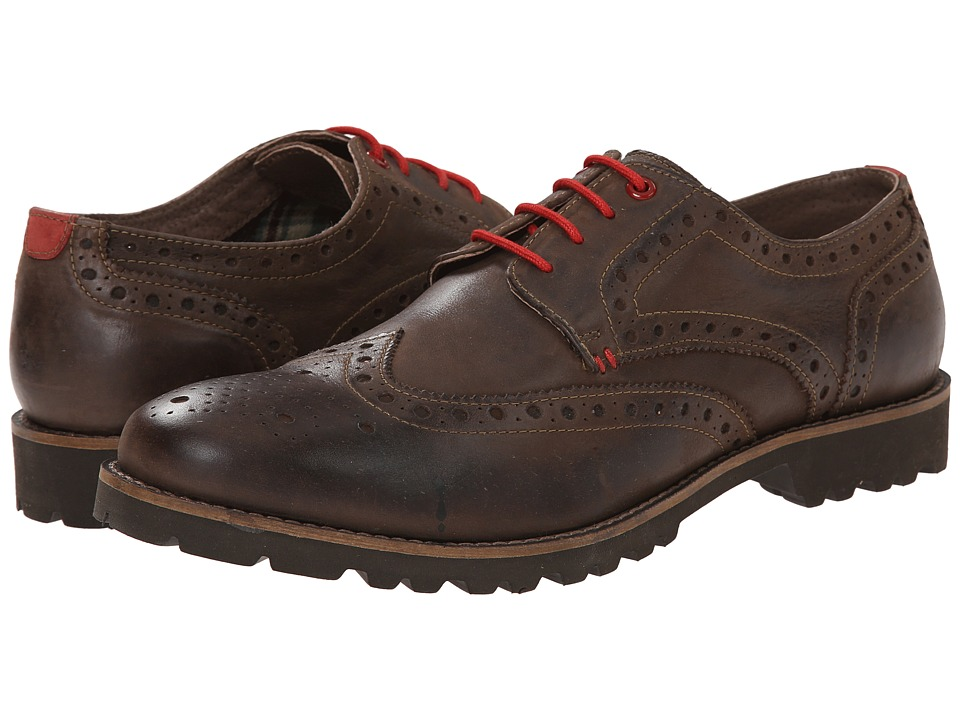 Lotus - Dartford (Brown Leather) Men's Lace Up Wing Tip Shoes