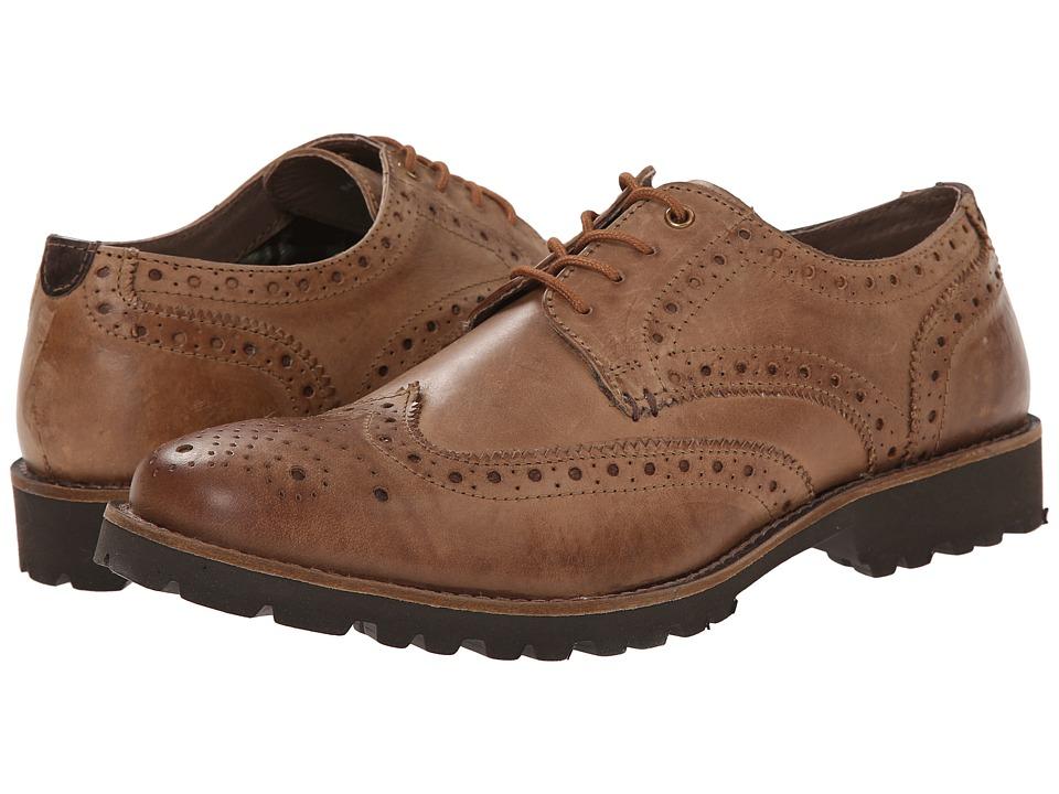 Lotus - Dartford (Tan Leather) Men's Lace Up Wing Tip Shoes