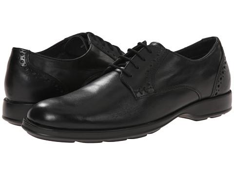 Lotus - Charlbury (Black Leather) Men's Lace Up Cap Toe Shoes