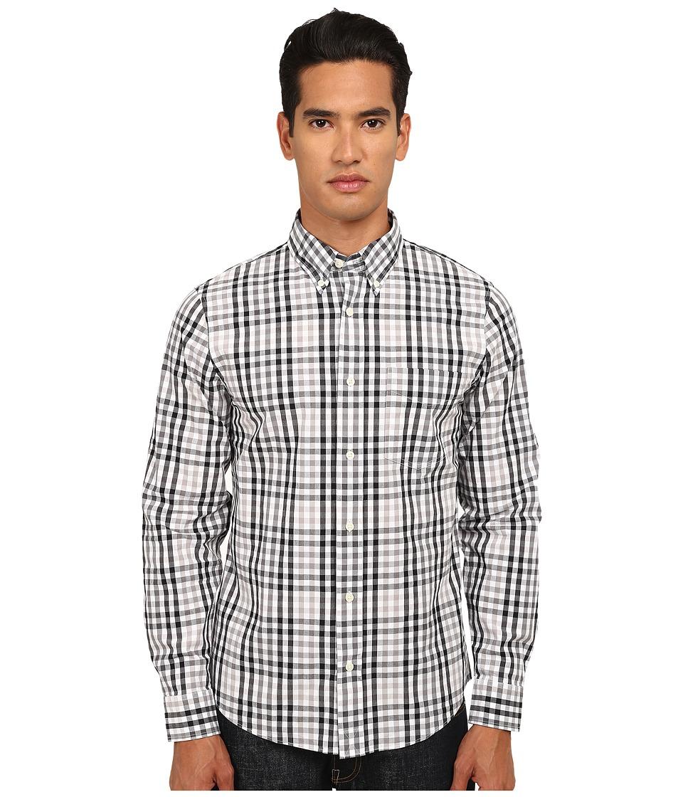 Jack Spade - Mattingly Gingham Shirt (Black) Men
