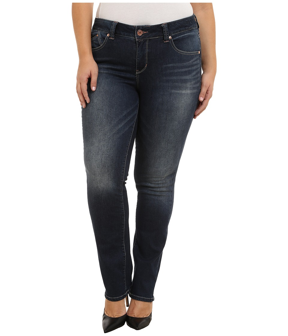 Jag Jeans Plus Size - Plus Size Sophie Mid Rise Straight Jeans in Blue Ridge (Blue Ridge) Women's Jeans plus size,  plus size fashion plus size appare