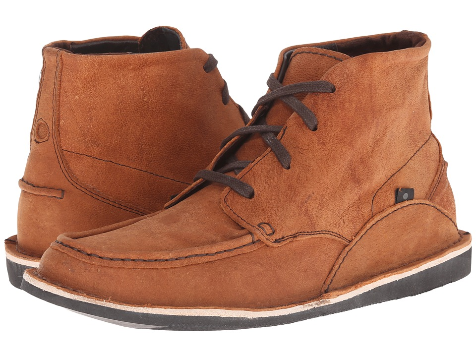 Oliberte - Mogado Hi (Brown Camel Leather) Men's Work Boots