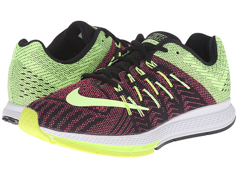 Nike - Air Zoom Elite 8 (Black/Volt/Pink Pow/Ghost Green) Women's Running Shoes