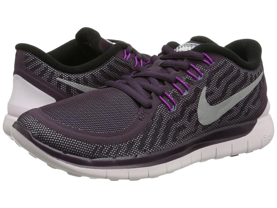 Nike - Free 5.0 Flash (Noble Purple/Vivid Purple/Copa/Reflect Silver) Women