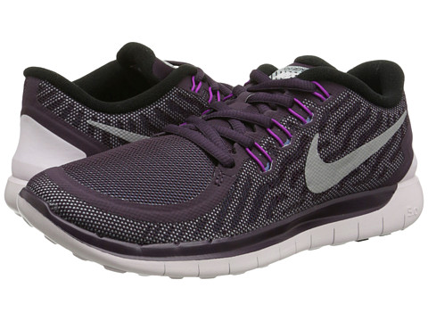 Nike - Free 5.0 Flash (Noble Purple/Vivid Purple/Copa/Reflect Silver) Women