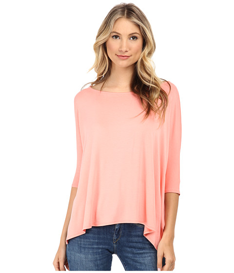 Brigitte Bailey - Sherry Top (Coral) Women's Clothing