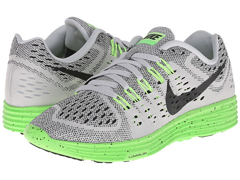 Nike - LunarTempo (Pure Platinum/Green Strike/Ghost Green/Black) Women's Running Shoes