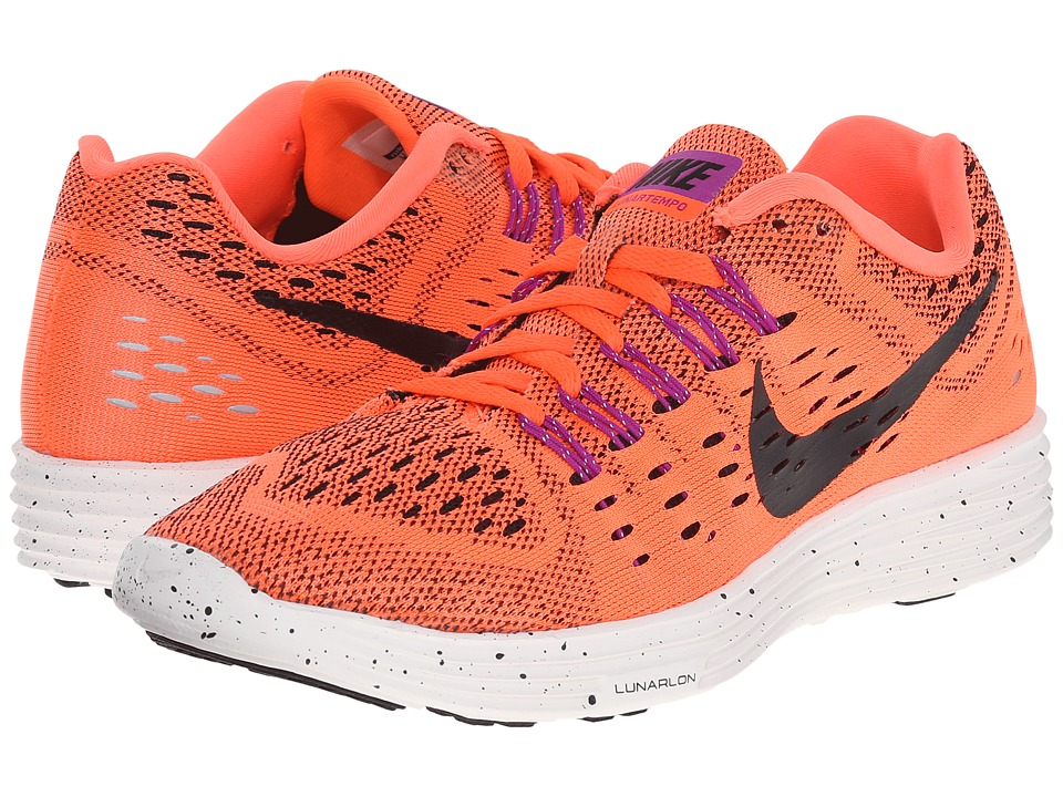 Nike - LunarTempo (Hyper Orange/Summit White/Bright Crimson/Black) Women