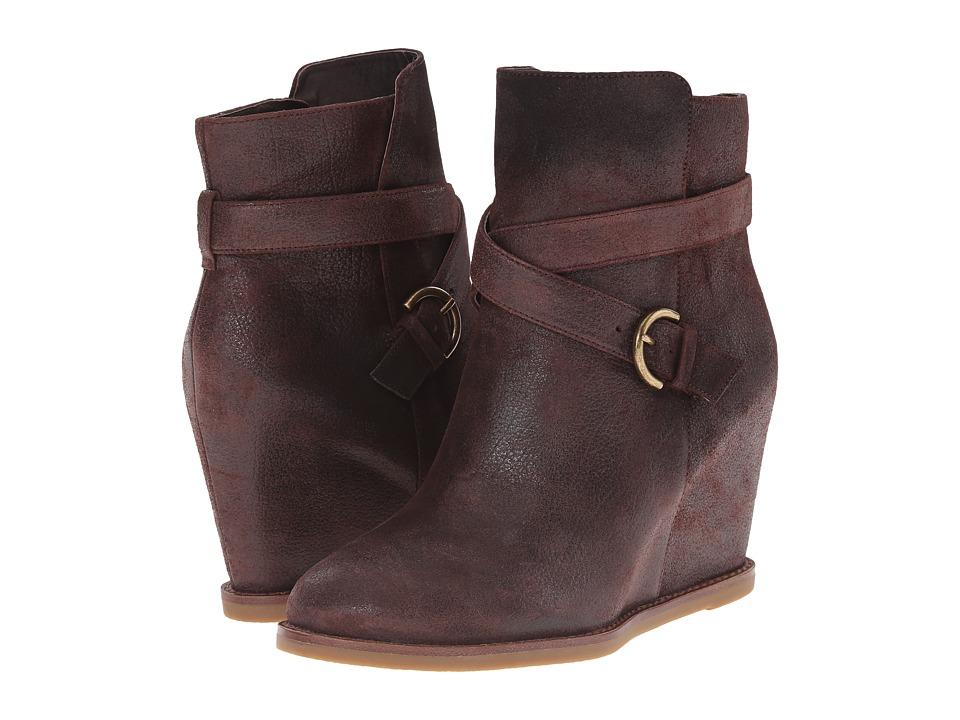 Johnston & Murphy - Brynn Jodphur Bootie (Espresso Waxed Calfskin) Women's Dress Boots
