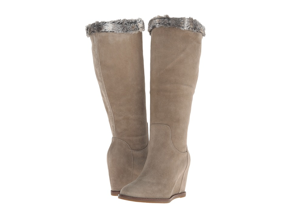 Johnston & Murphy Brynn Pull-On Boot (Mushroom Suede) Women