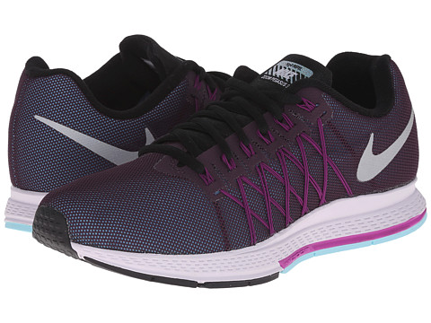 Nike - Air Zoom Pegasus 32 Flash (Noble Purple/Vivid Purple/Copa/Reflect Silver) Women's Running Shoes