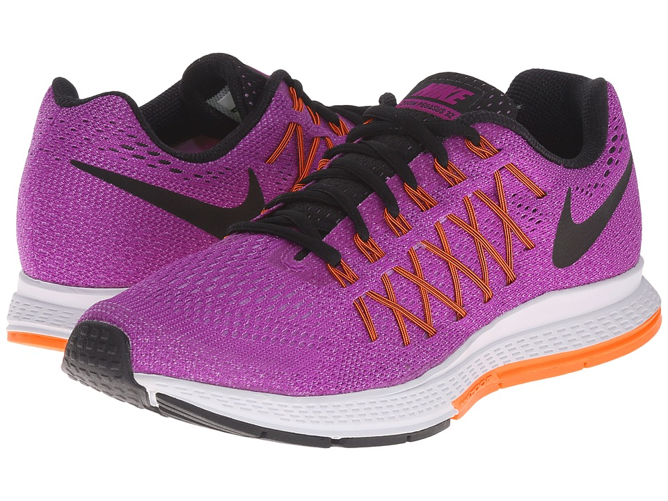 Nike - Air Zoom Pegasus 32 (Vivid Purple/Fuchsia Glow/Hyper Orange/Black) Women