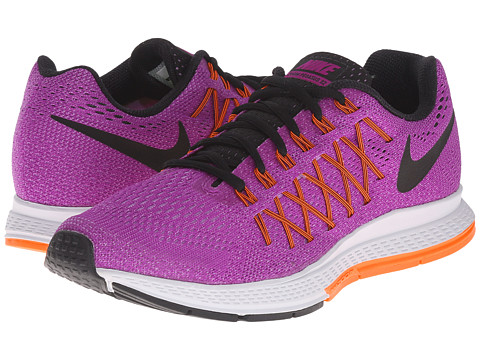Nike - Air Zoom Pegasus 32 (Vivid Purple/Fuchsia Glow/Hyper Orange/Black) Women's Running Shoes