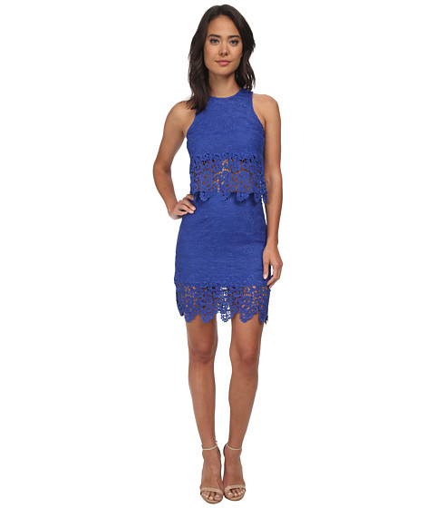 Gabriella Rocha - Maisy Lace Two-Piece Set (Royal) Women's Active Sets