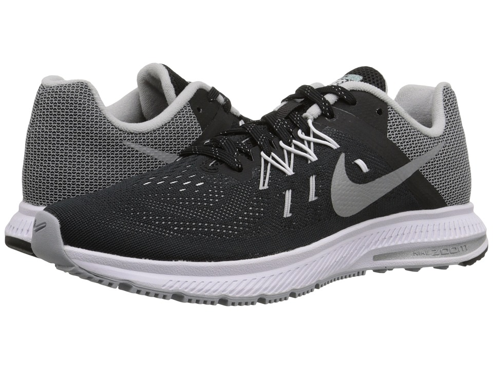 Nike - Zoom Winflo 2 Flash (Black/White/Reflect Silver) Women's Running Shoes
