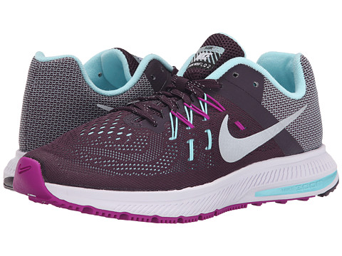 Nike - Zoom Winflo 2 Flash (Noble Purple/Vivid Purple/Copa/Reflect Silver) Women's Running Shoes