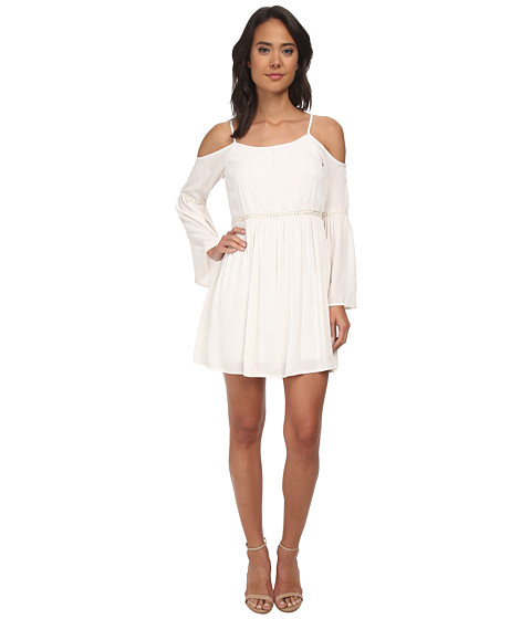 Gabriella Rocha - Open Shoulder Dress (Ivory) Women's Dress