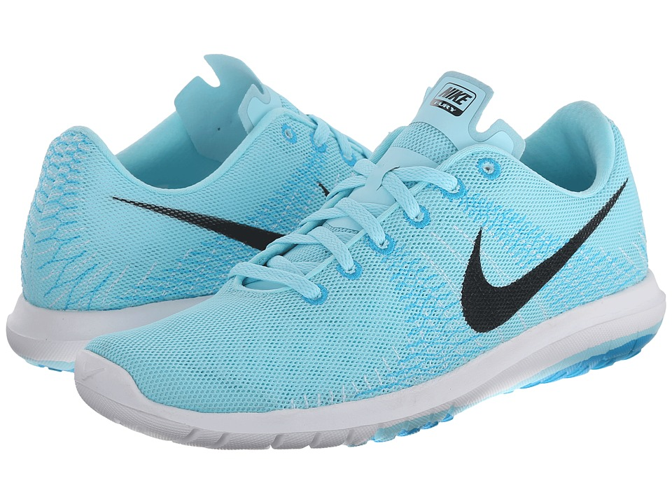 Nike - Flex Flury (Copa/Blue Lagoon/Stratus Blue/Black) Women