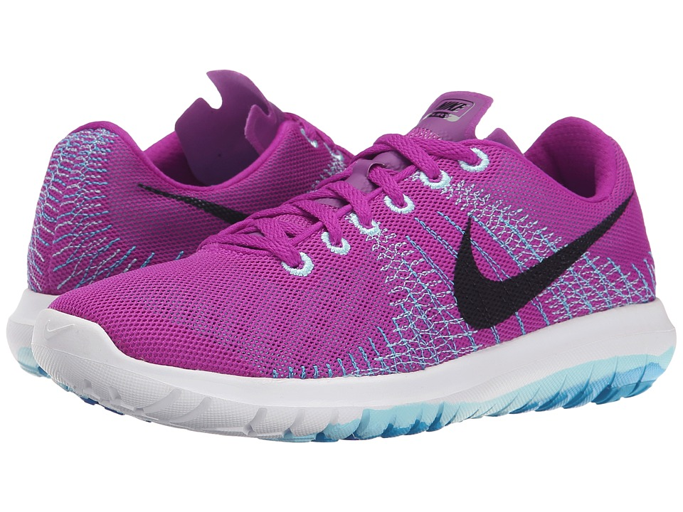 Nike - Flex Flury (Vivid Purple/Copa/Blue Lagoon/Black) Women's Running Shoes