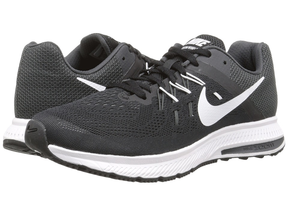 Nike - Zoom Winflo 2 (Black/Anthracite/White) Women's Running Shoes