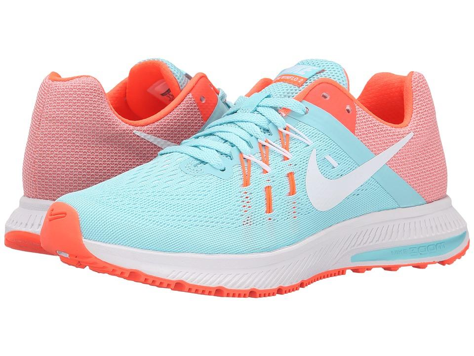 Nike Zoom Winflo 2 (Copa/Hyper Orange/White/White) Women