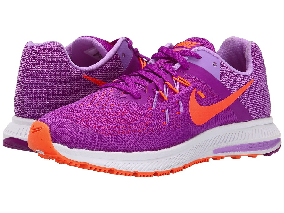Nike - Zoom Winflo 2 (Vivid Purple/Fuchsia Glow/White/Hyper Orange) Women's Running Shoes