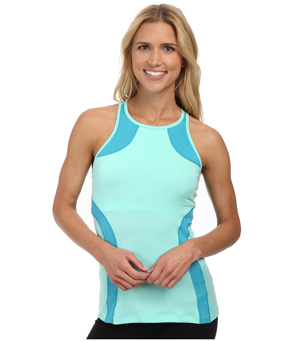 Fila - Fly Girl Halter Tank Top (Aqua/Bright Teal) Women's Sleeveless