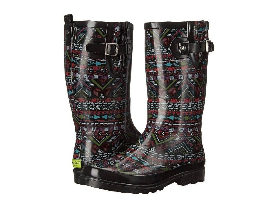 Western Chief - Mystic Tribal (Black) Women's Shoes