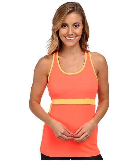 Fila - In The Moment Tank Top (Fiery Coral/Orange Pop) Women's Sleeveless