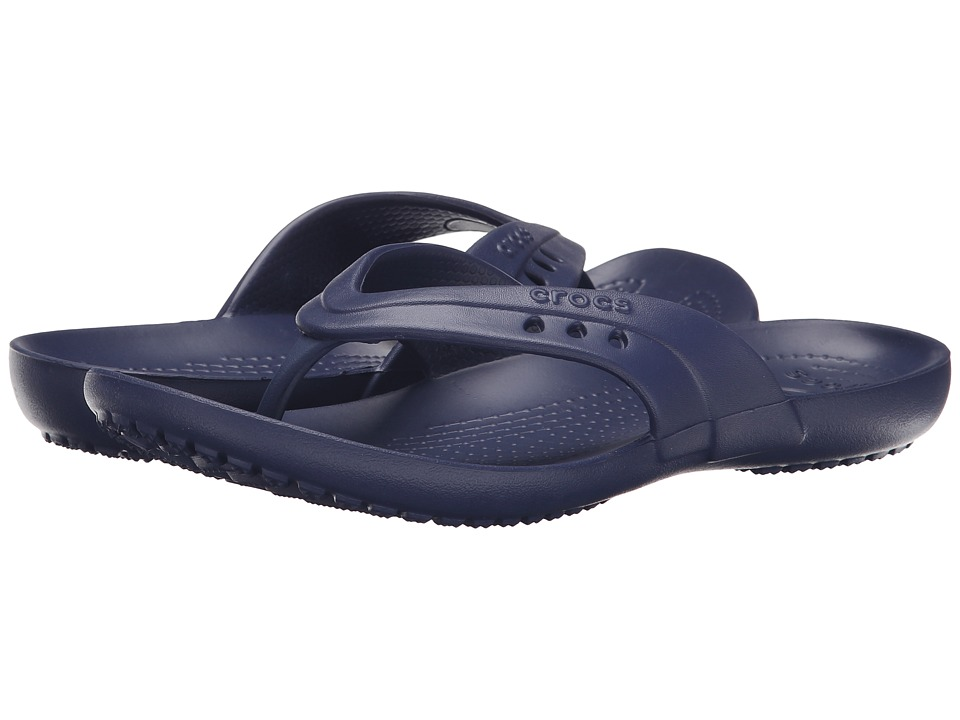 Crocs - Kadee Flip-Flop (Nautical Navy) Women's Sandals