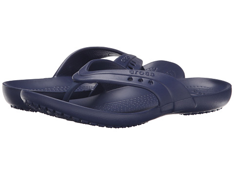 Crocs - Kadee Flip-Flop (Nautical Navy) Women