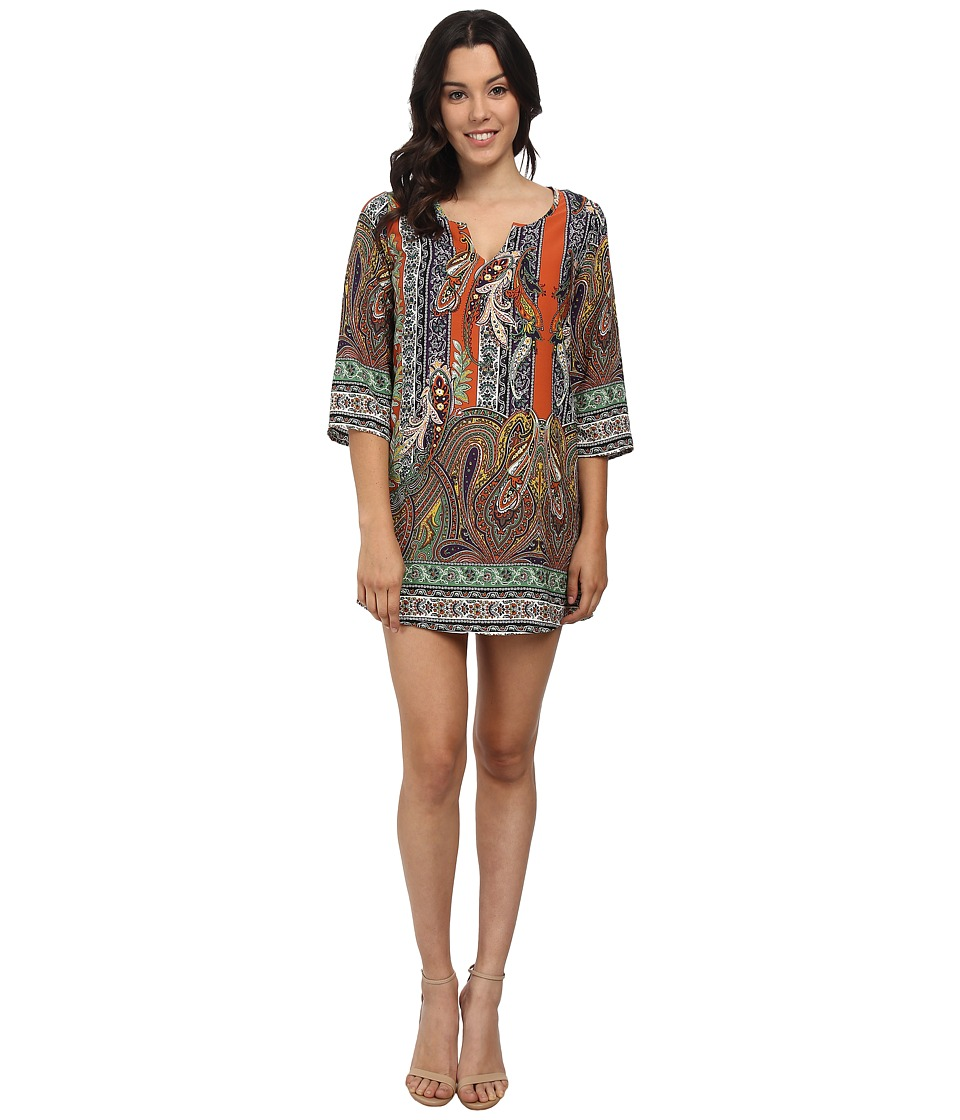 Brigitte Bailey - Kathryn Shift Dress (Paisley) Women's Dress
