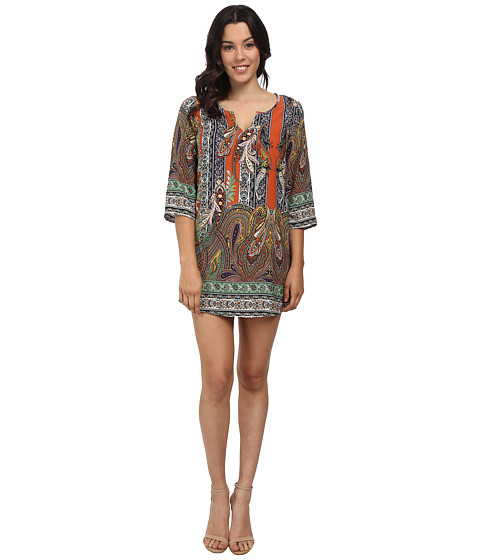 Brigitte Bailey - Kathryn Shift Dress (Paisley) Women