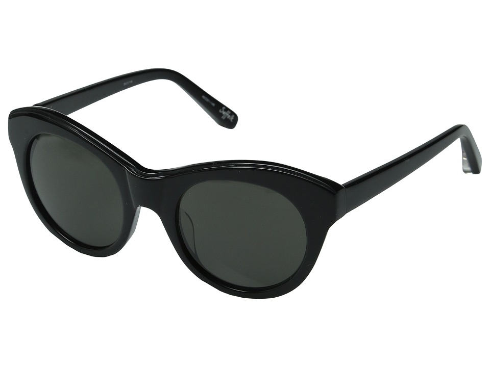 Elizabeth and James - Suffolk (Black/Smoke Mono Lens) Fashion Sunglasses
