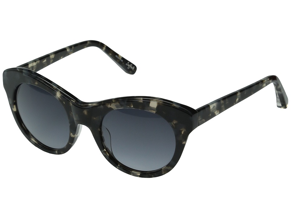 Elizabeth and James - Suffolk (Smoke Tortoise/Blue Gradient Lens) Fashion Sunglasses