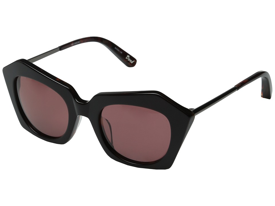 Elizabeth and James - Bond (Burgundy/Burgundy Mono Lens) Fashion Sunglasses