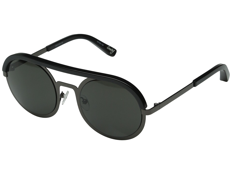 Elizabeth and James - Crosby (Charcoal/Smoke Mono Lens) Fashion Sunglasses