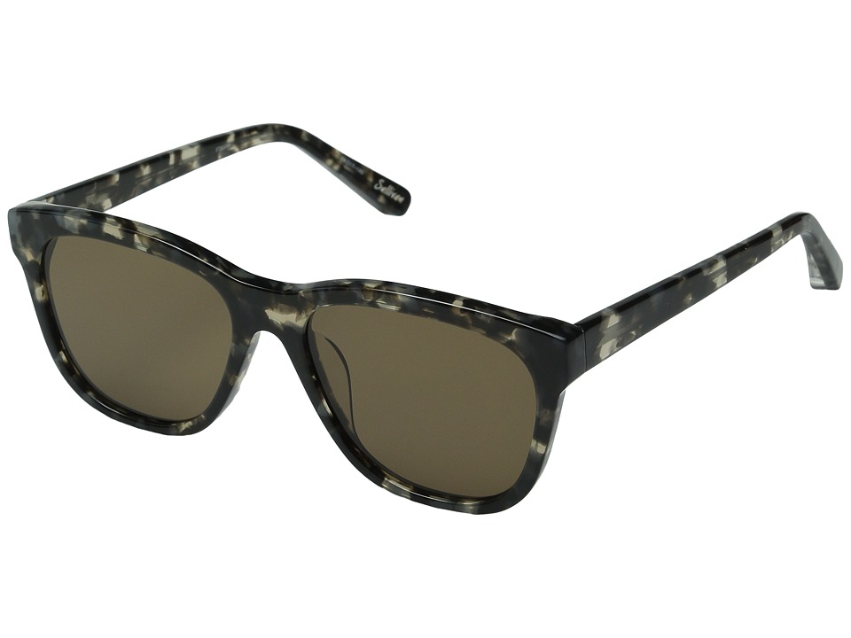 Elizabeth and James - Sullivan (Smoke Tortoise/Smoke Mono Lens) Fashion Sunglasses