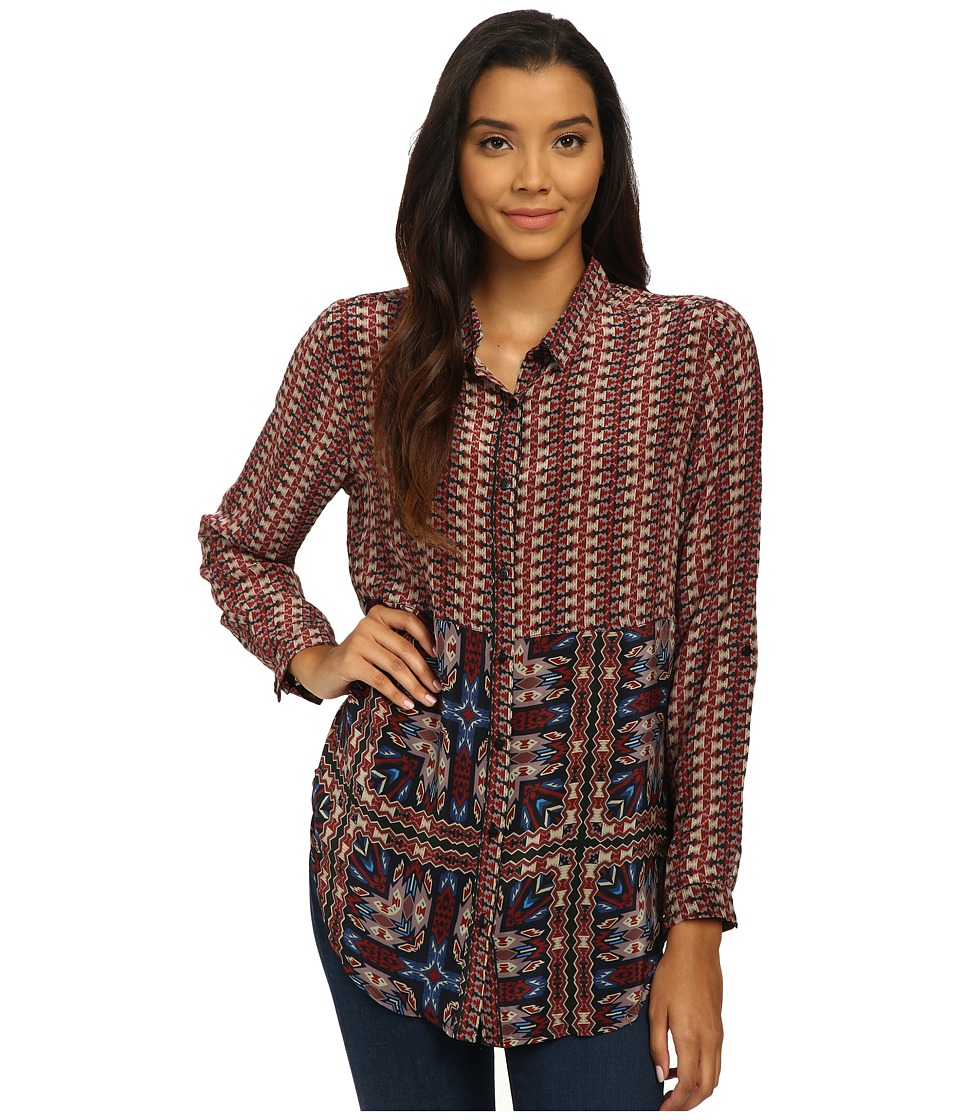 Tolani - Evelyn Top (Tribal) Women's Blouse