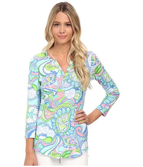 Lilly Pulitzer - Kirby Top (Multi Conch Republic) Women's Clothing
