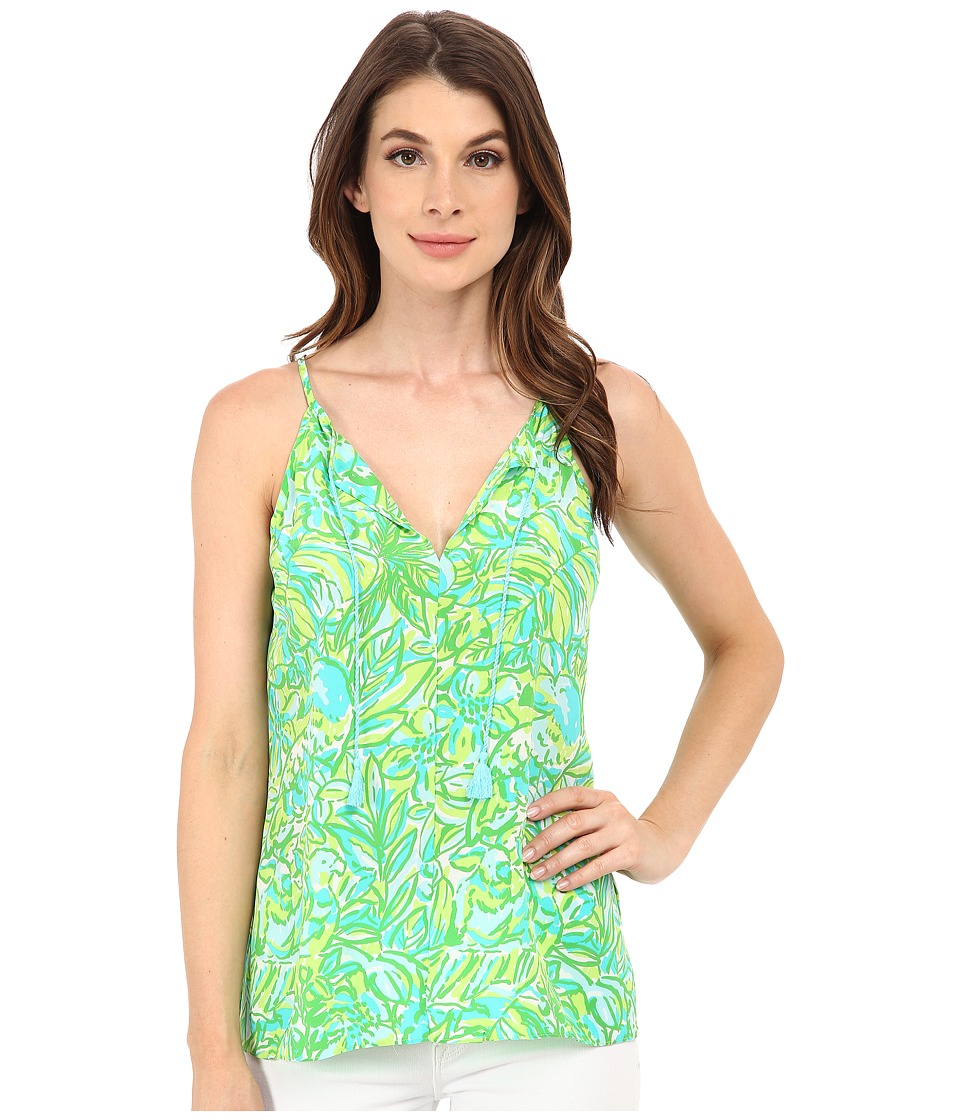 Lilly Pulitzer - Finn Top (Fresh Citrus Green Parrot) Women's Sleeveless