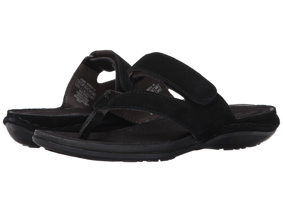 Rockport - Made To Move Sport Thong (Black) Women's Shoes